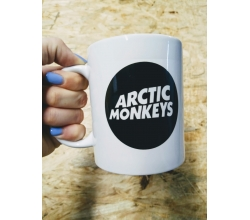 Kubek biały 330 ml Outlet Arctic Monkeys