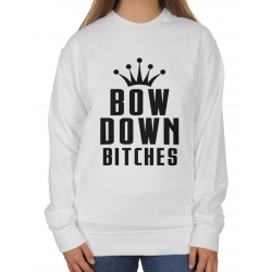 Bluza Oversize Bow down bitches