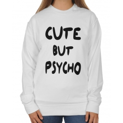 Bluza Oversize Cute but psycho