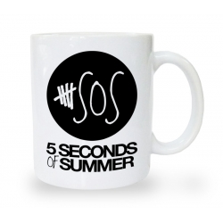 Kubek blogerski 5 second of summer SOS