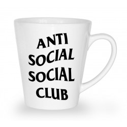 Blogerski kubek latte Anti Social Social Club