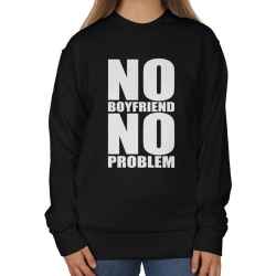 Blogerska bluza oversize No boyfriend no problem