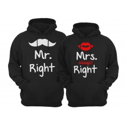 bluzy dla par MRS. MR. RIGHT