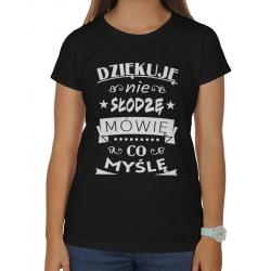 11c82cc7b88be7 Koszulki damskie ze śmiesznymi napisami, wzorami, na prezent