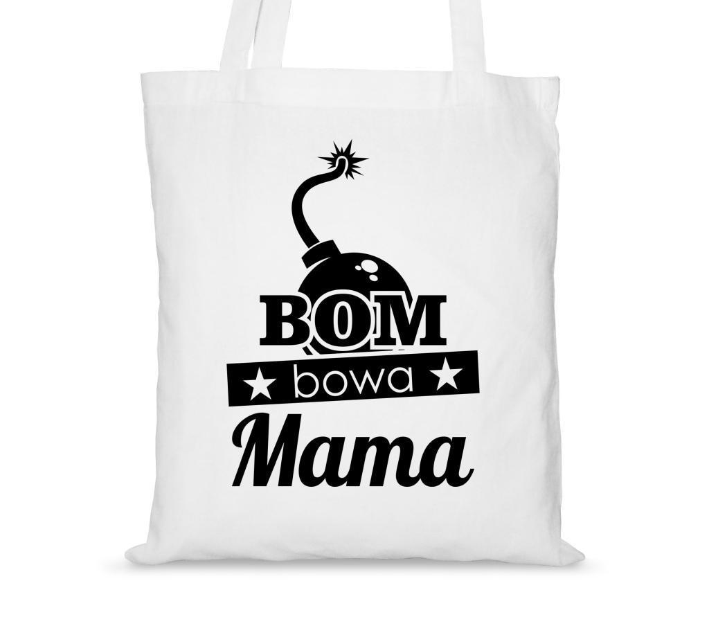 32720e630c63d Torba bawełniana na dzień matki Bombowa mama