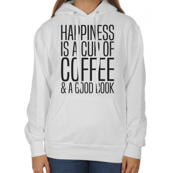 Bluza z kapturem Happines is a cup of coffe