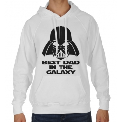 Bluza z kapturem na dzień Ojca Best dad in the galaxy