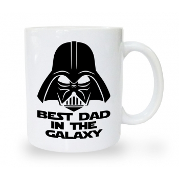 Kubek na dzień ojca Best dad in the galaxy